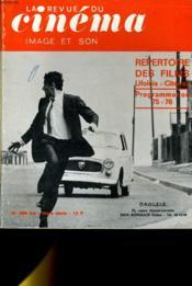 REVUE DE CINEMA - IMAGE ET SON N° 296 bis HORS-SERIE - REPERTOIRE DES FILMS UFOLEIS - CITEVOX - PROGRAMMATION 75 - 76 - Couverture - Format classique