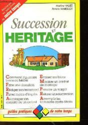 Sucession Et Heritage - Couverture - Format classique