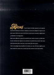 Gil Saint-André ; intégrale t.6 à t.8 ; second cycle - 4ème de couverture - Format classique