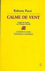 Calme De Vent - Couverture - Format classique