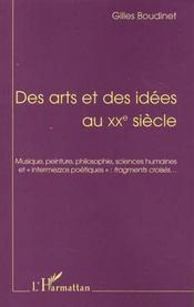Des Arts Et Des Idees Au Xx Siecle - Intérieur - Format classique