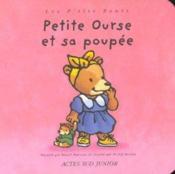 Petite ourse et sa poupee - Couverture - Format classique