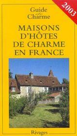 Maisons d'hotes de charme en france - Intérieur - Format classique