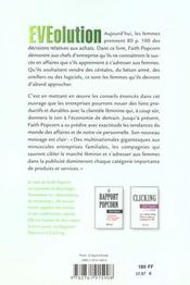 Evolution Le Pouvoir Economique Des Femmes - 4ème de couverture - Format classique