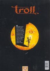 Troll t.2 ; le dragon du donjon - 4ème de couverture - Format classique