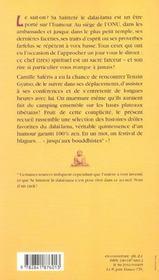 Rions Un Peu Avec Le Dalai-Lama - 4ème de couverture - Format classique