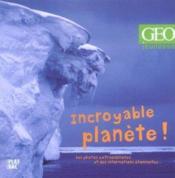Incroyable Planete - Couverture - Format classique