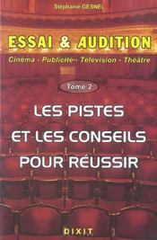 Essai Et Audition Tome 2 - Intérieur - Format classique