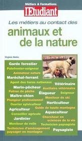 100 Metiers Au Contact Des Animaux Et De La Nature - Intérieur - Format classique