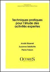 Techniques pratiques pour l'étude des activités expertes - Couverture - Format classique