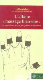 L'affaire massage bien-être - Intérieur - Format classique