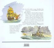 Pages d'histoire navale - 4ème de couverture - Format classique