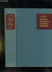 Technique Economique Et Gestion Industrielle. - Couverture - Format classique