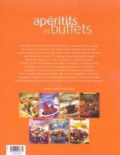 Aperitifs Et Buffets - 4ème de couverture - Format classique