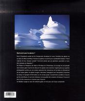 Glaciers ; forces et fragilités - 4ème de couverture - Format classique