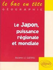 Le Japon Puissance Regionale Et Mondiale - Intérieur - Format classique