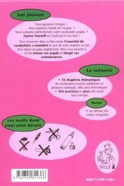 Express Yourself Niveau 1 15 Chapitres Thematiques Pour Connaitre L'Essentiel Du Vocabulaire Anglais - 4ème de couverture - Format classique