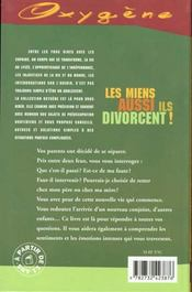 Miens Aussi Ils Divorcent ! (Les) - 4ème de couverture - Format classique