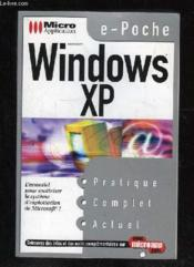 Poche windows xp - Couverture - Format classique