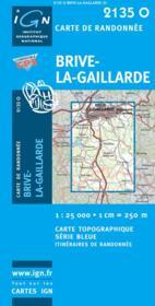 Brive-la-Gaillarde - Couverture - Format classique