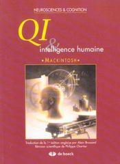 Qi Et Intelligence Humaine - Intérieur - Format classique