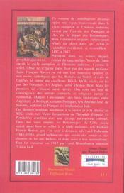 Decouverte De L'Inde 1497-1947 ; De Vasco De Gama A Lord Mountbatten - 4ème de couverture - Format classique