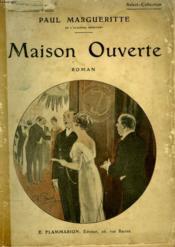 Maison Ouverte. Collection : Select - Collection N° 18 - Couverture - Format classique