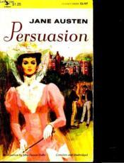 Persuasion - Couverture - Format classique