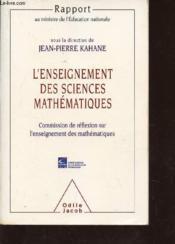 L'Enseignement Des Sciences Mathematiques - Couverture - Format classique