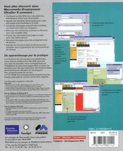 Dreamweaver ultradev 4 ; training from the source - 4ème de couverture - Format classique