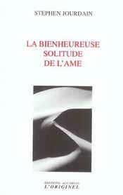 Bienheureuse Solitude De L'Ame (La) - Intérieur - Format classique