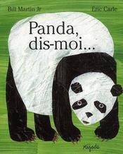 Panda, dis-moi... - Intérieur - Format classique
