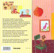 Les gouters d'anniversaire - 4ème de couverture - Format classique
