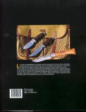 Couteaux De Chasse - 4ème de couverture - Format classique