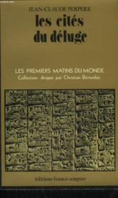 Les Cites Du Deluge. - Couverture - Format classique