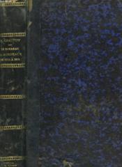 Le Barreau De Bordeaux De 1775 A 1815. - Couverture - Format classique