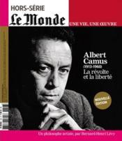 Le Monde Hors-Serie N.18 ; Albert Camus - Couverture - Format classique