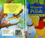 Winnie The Pooh And The Honey Tree - Couverture - Format classique