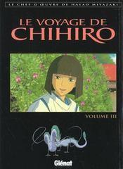 Le voyage de chihiro - tome 03 - Intérieur - Format classique