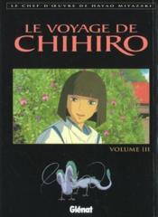 Le voyage de chihiro - tome 03 - Couverture - Format classique