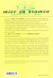La Composition D'Histoire Instituts D'Etudes Politiques Paris Et Province Entree En 1re Et 2e Annee - 4ème de couverture - Format classique