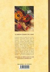 Jardin Comme On L'Aime (Le) - 4ème de couverture - Format classique