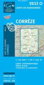Corrèze - Couverture - Format classique