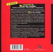 Essentiel droit des societes t.1. les societes commerciales (l') - 4ème de couverture - Format classique