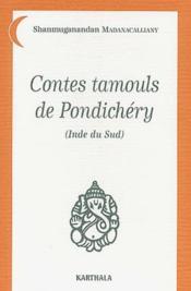 Contes tamouls de pondichery - Couverture - Format classique