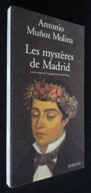 Les Mysteres De Madrid - Couverture - Format classique