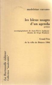 Les Bleus Usages D'Un Agenda - Couverture - Format classique