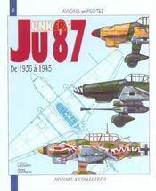 Le junkers JU 87 - Intérieur - Format classique