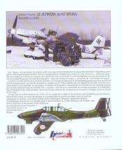 Le junkers JU 87 - 4ème de couverture - Format classique
