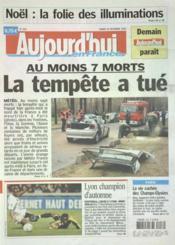 Aujourd'Hui En France N°1115 du 18/12/2004 - Couverture - Format classique